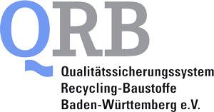 Logo Qualitätssicherungssystem Recycling-Baustoffe Baden-Württemberg e.V.