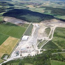 SHB Werk Götzingen Luftbild